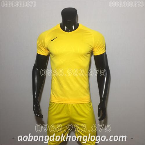 Áo bóng đá không logo Nike HHP Pro màu vàng