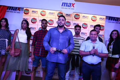 Badshah at the Max Fashion Launch