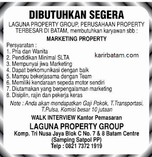 Lowongan Kerja Laguna Property Group