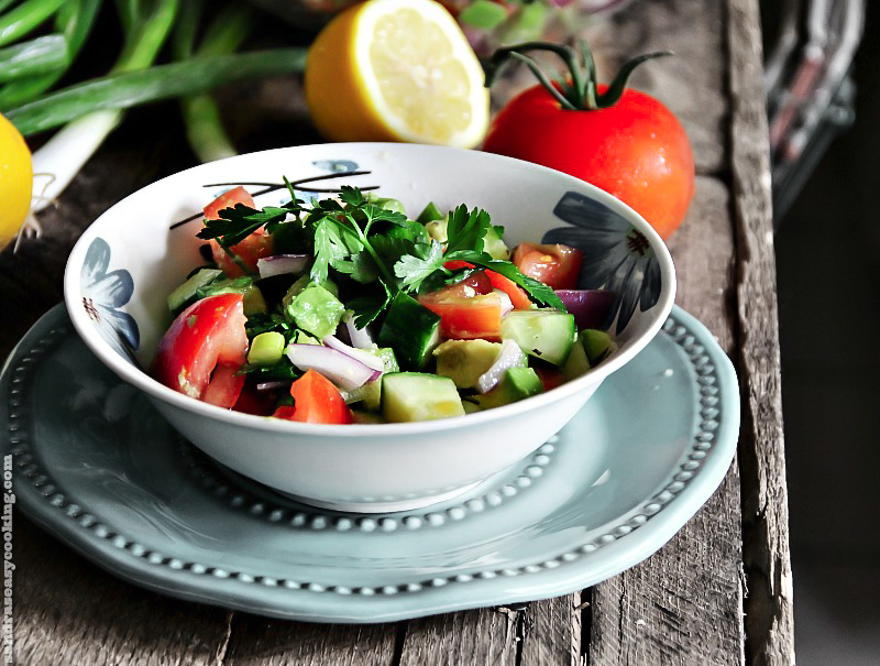 Simple and delicious #recipe for Summer #salad - for more recipes, visit my blog; Sandra's Easy Cooking