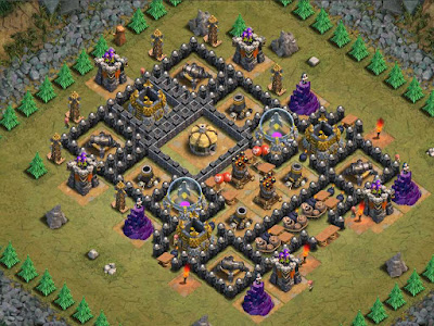 Goblin Base Clash of Clans P.E.K.K.A's Playhouse