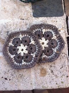 crochet pattern african flower hexigon granny