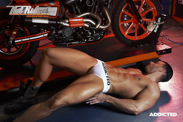 Addicted underwear - Hot Riders campaign