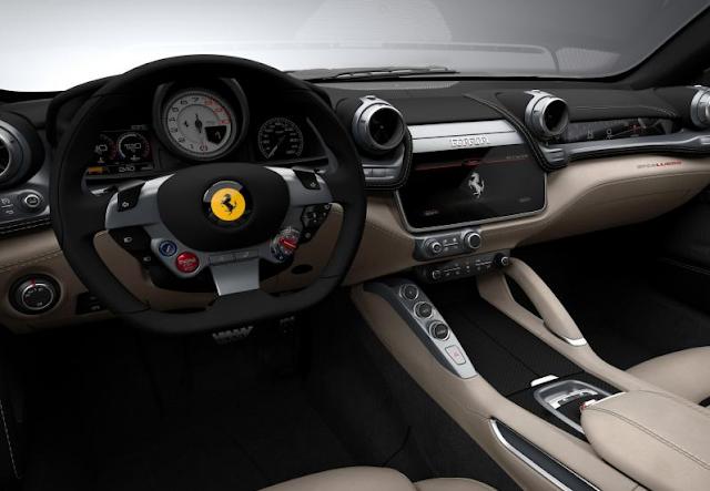 2017 Ferrari Lusso GTC4 Interior