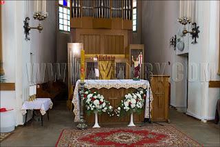 Минск. Костёл Святой Троицы (Святого Роха). Алтарь