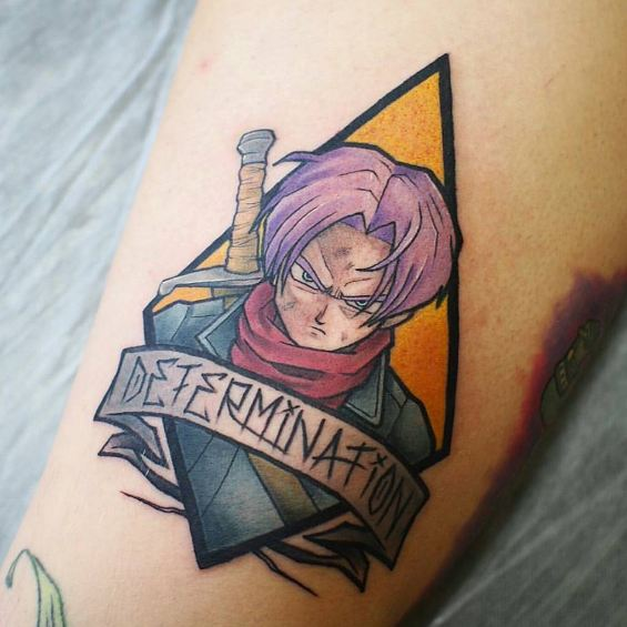 Anime Characters With Tattoos : Cool anime tattoos for men and women
