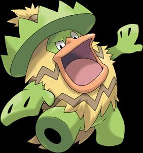 樂天河童技能 | 樂天河童進化 - 寶可夢Pokemon Go精靈技能配招 Ludicolo - 寶可夢公園