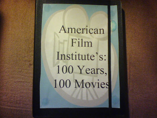100 Years, 100 Films, 100 Nights I Won't Write.