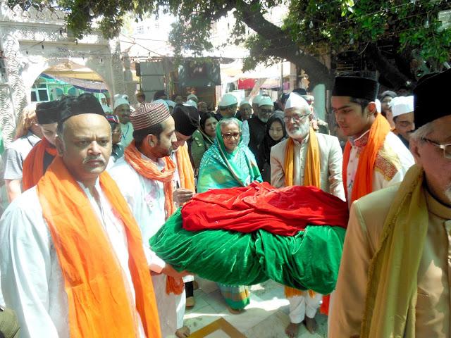 Ajmer, Rajasthan, bangladesh pm, Sheikh Hasina, Ajmer Dargah, Dargah Sharif, Khwaja Gareeb nawaj
