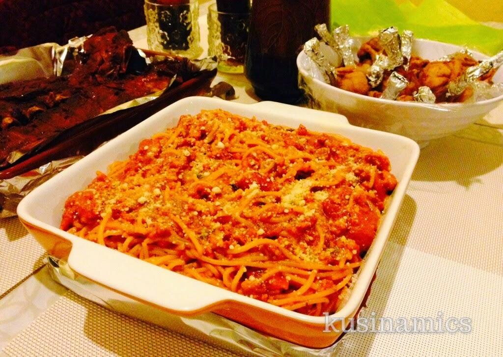 Pinoy Style Spaghetti Kusinamics
