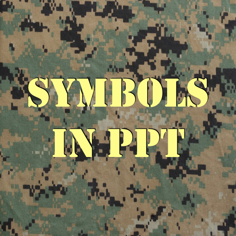 Symbols Ppt Unit Professional Military Education