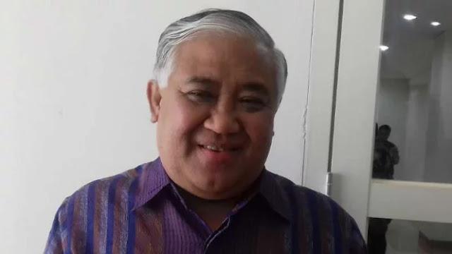 Din Syamsuddin Minta Tabloid 'Indonesia Barokah' Dibakar Depan Masjid