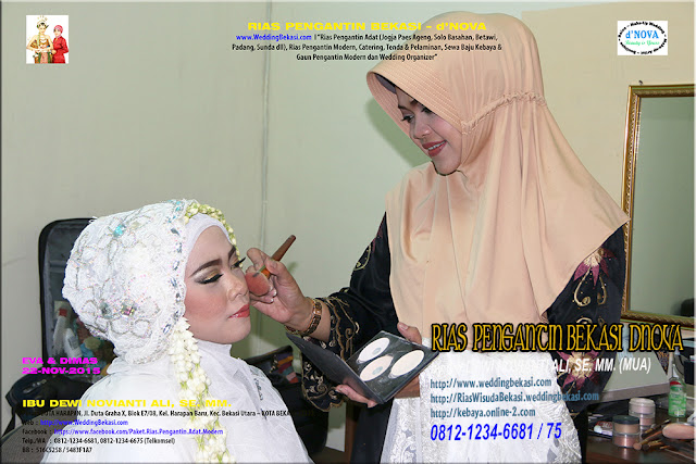 Rias Pengantin MUSLIMAH - Sanggar Make Up Rias Pengantin Bekasi dNova Bekasi Utara (8)