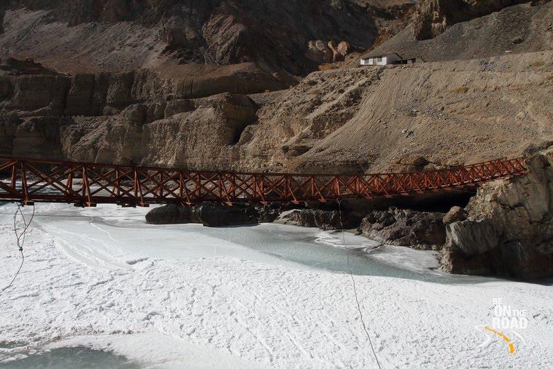 Frozen Zanskar River