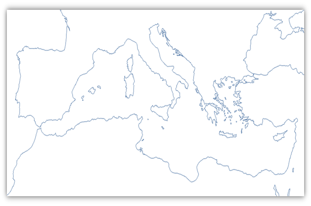 Mapa Imperio Romano Mudo.Mapa Mudo Imperio Romano