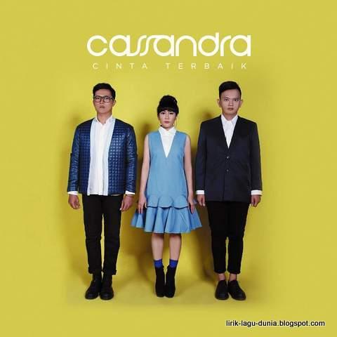 Sampul Album Cassandra Cinta Terbaik