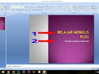 Cara  Membuat Slideshow Keren Dengan Power Point 2007