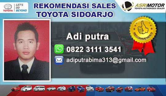 Rekomendasi Sales Toyota Krian Sidoarjo