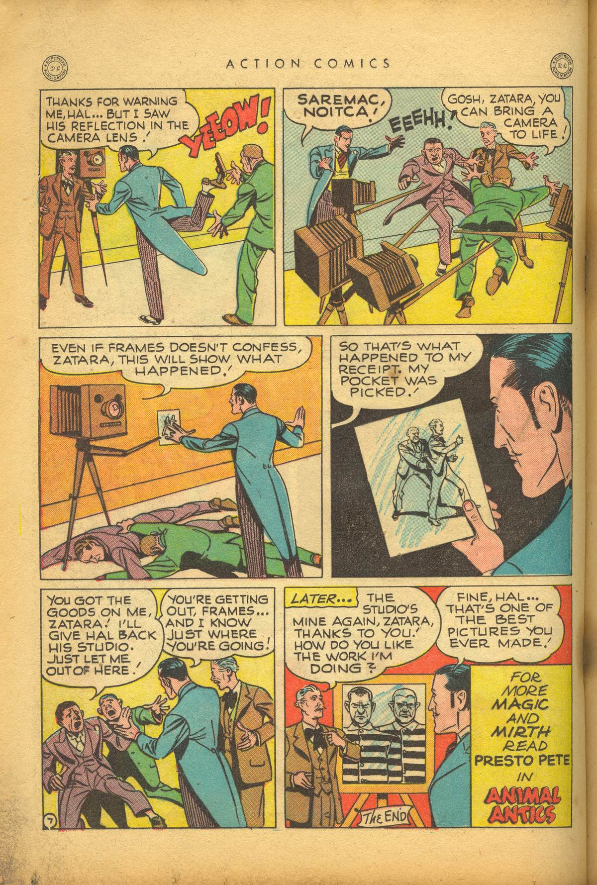 Read online Action Comics (1938) comic -  Issue #112 - 30