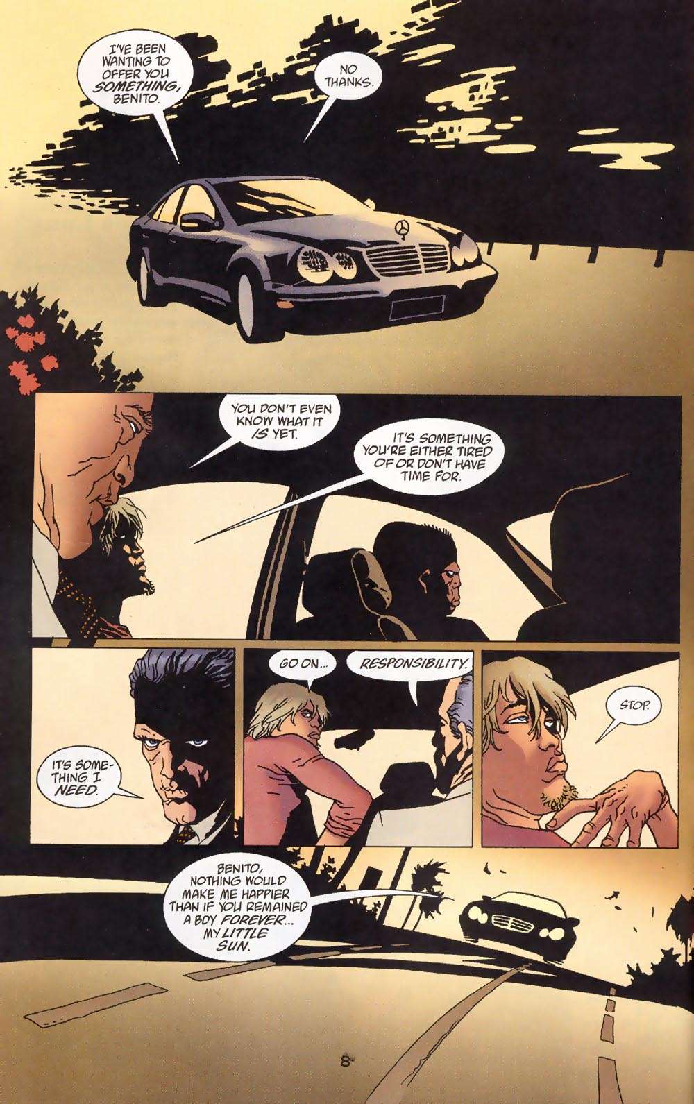 Read online 100 Bullets comic -  Issue #39 - 10