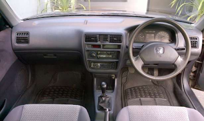 Interior Honda City SX8