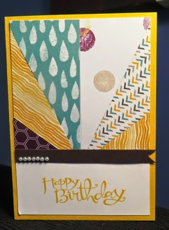 Strips of DSP zena kennedy, zena kennedy independent stampin up demonstrator Australia