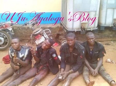 ARMED Robbers In Police Uniform ARRESTED ...See Photo