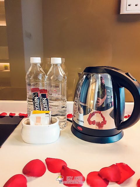 Complimentary drinking water, coffee and tea in the room - Ramada KLCC