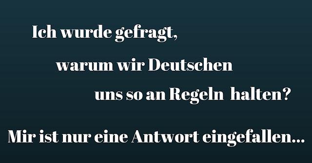 Wieso sind Deutsche so auf Regeln bedacht
