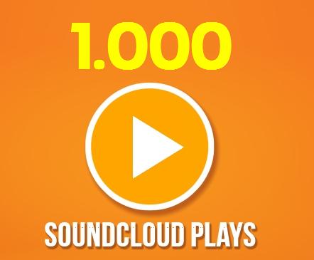Buy 1000 SoundCloud Plays