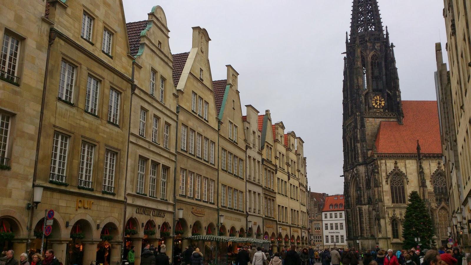 Mischas Reiseseite Ein Kurzer Ausflug Nach Münster