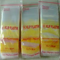 Jual plastik clip