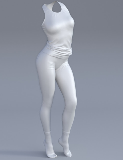Lazy Days for Genesis 3 Female
