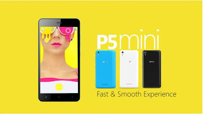 photo of gionee p5 mini smartphone