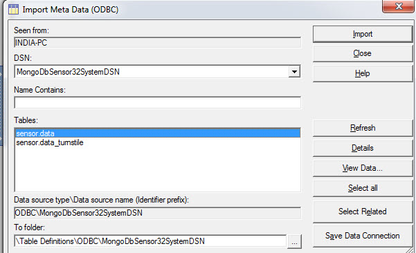 How to connect to MongoDB from DataStage using ODBC | Entechlog