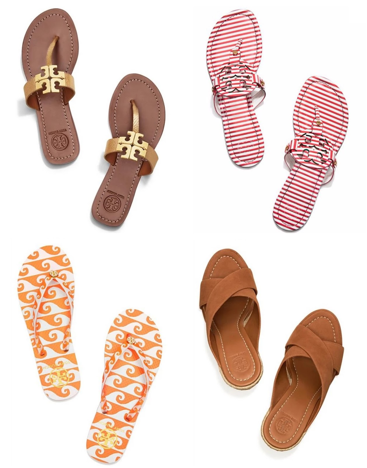 a035792f3 Tory Burch just marked down a bunch of sandals + free shipping and returns!  (And don t forget about the private sale ----  http   shopstyle.it l kYPN)