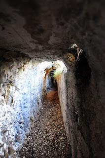 via ferata na Cima Capi ob Gardskem jezeru, bunkerji 1. svetovne vojne