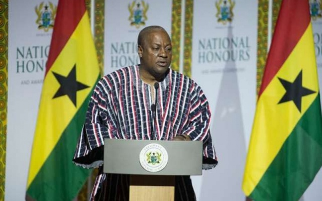 Mahama's Full Final State Of The Nation Address