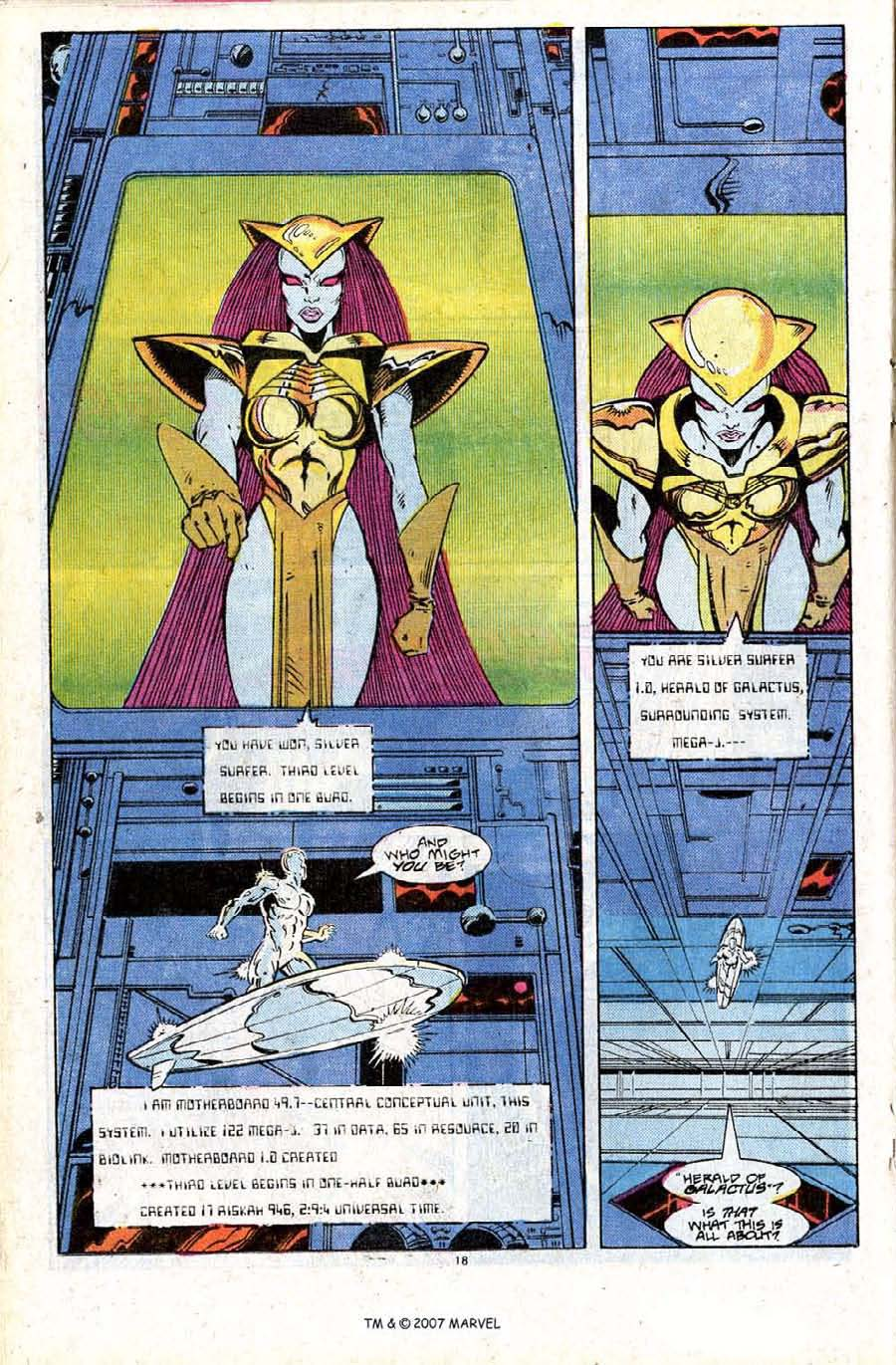 Read online Silver Surfer (1987) comic -  Issue #24 - 20