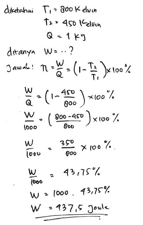 Sebuah Mesin Carnot : sebuah, mesin, carnot, MaFiA:, Thermodinamika, Mesin, Carnot, Efisiensi