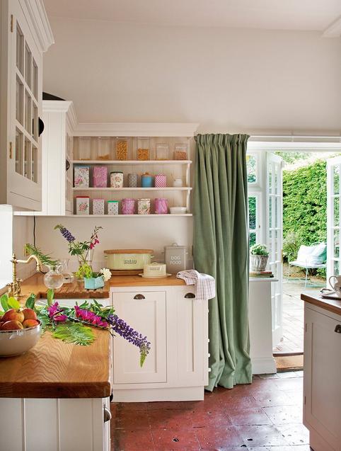 cozinha campo rosa