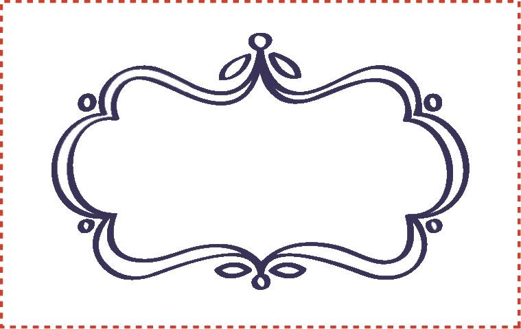 Blank Printable Tags: Blank Labels