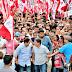 Moradores fazem festa para  Edivaldo no Bairro Monte Castelo