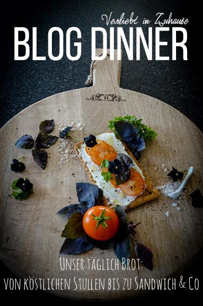 Beim Blog-Dinner im August sammeln wir Rezepte für Stullen, Butterbrote oder Sandwiches
