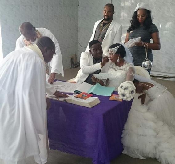 Mr Ibu John Okafor is Married