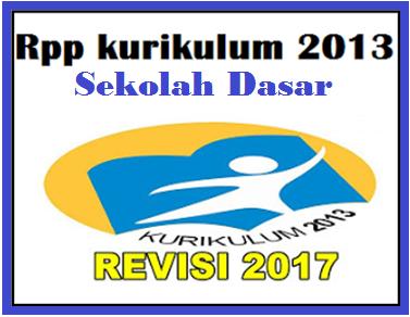 CONTOH RPP KURIKULUM 2013 LENGKAP SD KELAS 1-6
