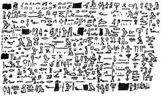 Papiro Egípcio antigo revela visita de um povo avançado