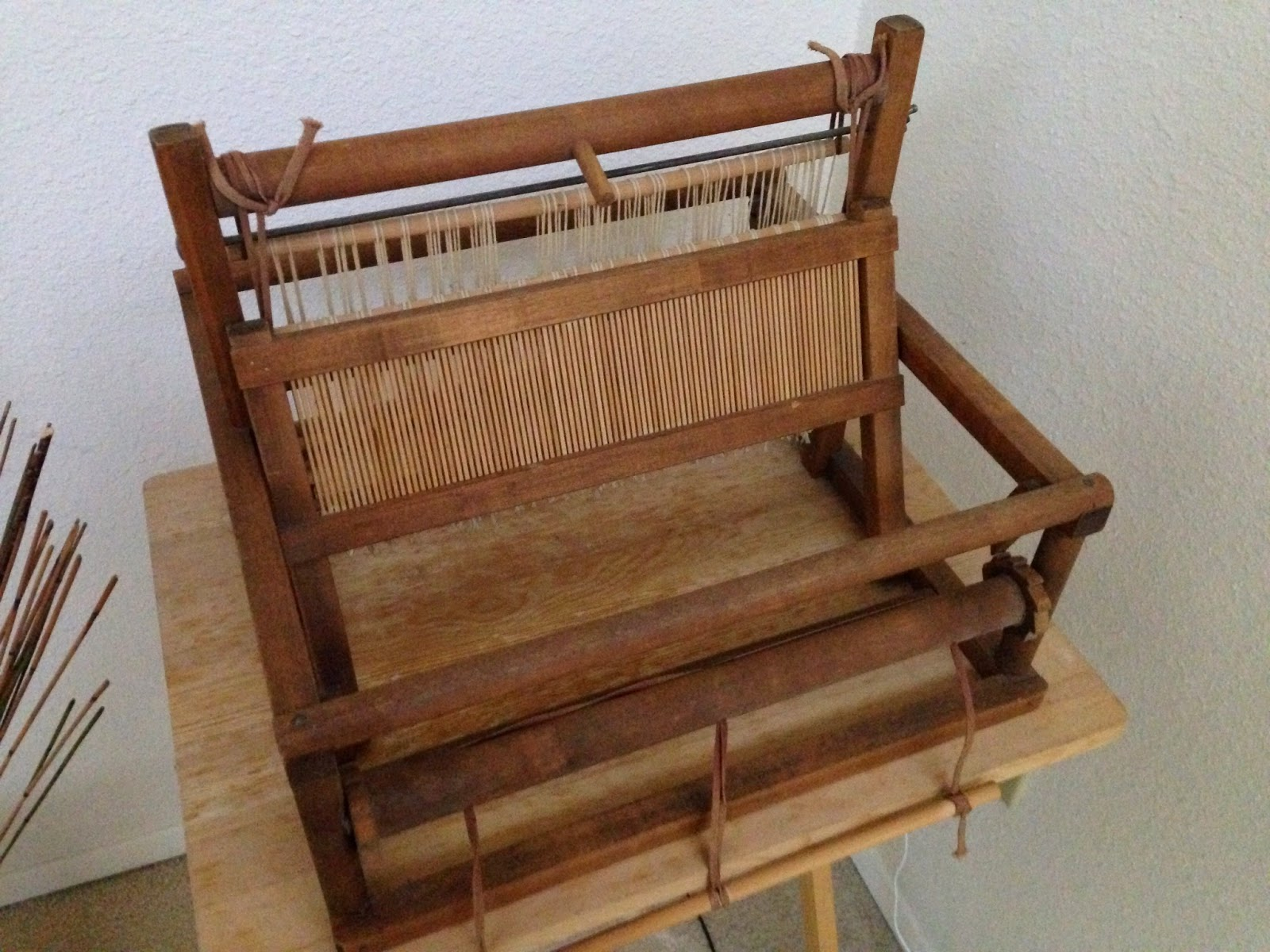Floor Loom Plans Creative With Clay Pottery By Charan Sachar Knitting And