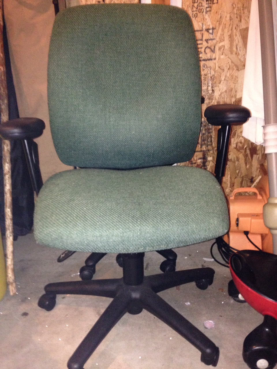 Office chair slipcovers - I Can Make Office Chair Slipcovers For Out Of State Customers I Will Ask For A Couple Measurements To Get A Custom Fit The Seat Has Two Velcro Straps To