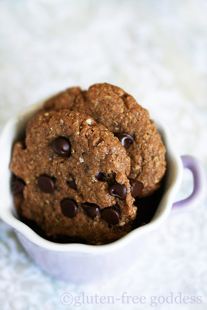 Gluten-Free Chocolate Chip Quinoa Cookies